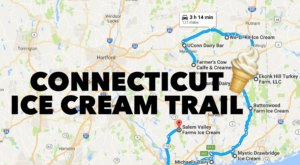 This Mouthwatering Ice Cream Trail In Connecticut Is All You've Ever Dreamed Of And More