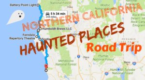 Take A Haunted Road Trip To Visit Some Of The Spookiest Places In  Northern California