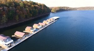 Experience The Ultimate Lake Life In These Floating Houses In Kentucky