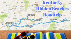 The Hidden Beaches Road Trip That Will Show You Kentucky Like Never Before
