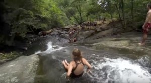 A Ride Down This Epic Natural Waterslide In Virginia Will Make Your Summer Complete