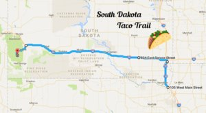Your Tastebuds Will Go Crazy For This Amazing Taco Trail In South Dakota
