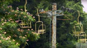 This Chairlift To Nowhere Is An Eerie Reminder Of Tennessee's Past