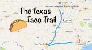 This Amazing Taco Trail In Texas Takes You To 9 Tasty Restaurants