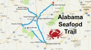 There's Nothing More Scrumptious Than This Seafood Trail In Alabama