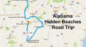 The Hidden Beaches Road Trip That Will Show You Alabama Like Never Before