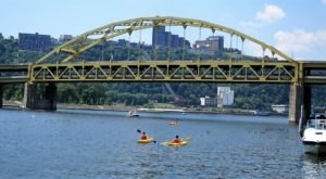 10 Perfect Places To Kayak And Canoe Around Pittsburgh This Summer