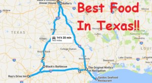 The Epic Road Trip That Lets You Try All Of The Best Food In Texas