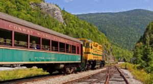 You'll Absolutely Love A Ride On New Hampshire's Majestic Mountain Train This Summer