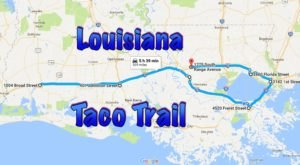 Your Tastebuds Will Go Crazy For This Amazing Taco Trail In Louisiana