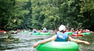 7 Lazy Rivers In Maryland That Are Perfect For Tubing On A Summer's Day