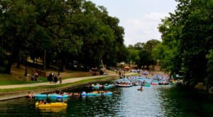 10 Lazy Rivers In Texas That Are Perfect For Tubing On A Summer's Day