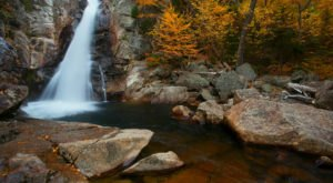 You Have to See This Amazing New Hampshire Waterfall – No Hiking Required