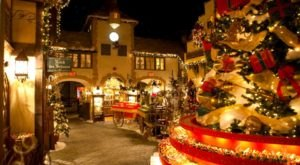 Celebrate Christmas Year-Round At Yankee Candle Village, An Enchanting Shop In Massachusetts