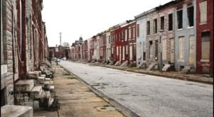 What This Drone Footage Caught In Baltimore Will Drop Your Jaw