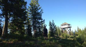 Spend The Night In One Of These Idaho Fire Towers For An Unforgettable Camping Experience