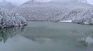 This Spot In Montana Remains A Winter Wonderland All Summer Long