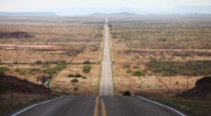 A Drive Down New Mexico's Loneliest Road Will Take You Miles And Miles Away