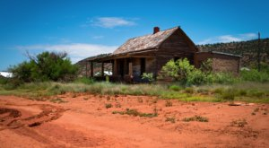 The Sun Is Scorching This Abandoned Ghost Town In The New Mexico Desert