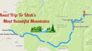 The Utah Road Trip To Utah's Most Gorgeous Mountains