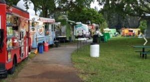 You've Never Experienced Anything Like Florida's Epic Food Truck Park