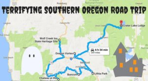 Take The Ultimate Terrifying Southern Oregon Road Trip For A Haunting Adventure