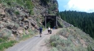 This Amazing Hiking Trail In Idaho Takes You Through An Abandoned Train Tunnel