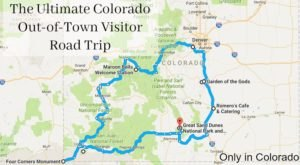 Your Out-of-Town Visitors Will Love This Epic Road Trip Across Colorado