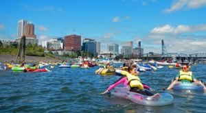 You Won't Want To Miss This Epic River Float Happening In Portland This Weekend