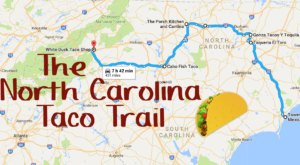 Your Tastebuds Will Go Crazy For This Amazing Taco Trail In North Carolina