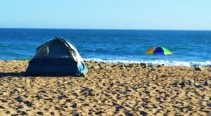 The Picturesque Beachfront Campground In Southern California That Will Make Your Summer Epic