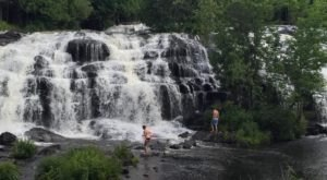 8 Waterfall Swimming Holes In Michigan That Will Make Your Summer Complete