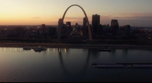 What This Drone Footage Caught In St. Louis Will Drop Your Jaw