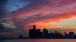 Here Are 8 Stunning Places To Watch The Sun Set In Detroit That Will Blow You Away