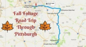 This Dreamy Road Trip Will Take You To The Best Fall Foliage In All Of Pittsburgh