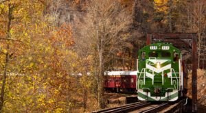 This Wine-Themed Train In North Carolina Will Give You The Ride Of A Lifetime