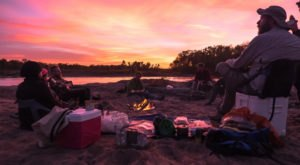 Most People Don't Know You Can Go Camping On A Wisconsin Sandbar