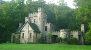 An Abandoned Castle Awaits Along The Loop Trail At North ChagrinReservation In Ohio