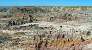 Hell's Half Acre Is One Of The Most Mesmerizing Natural Wonders In All Of Wyoming