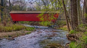 The Sinister Story Behind This Popular Maryland Covered Bridge Will Give You Chills