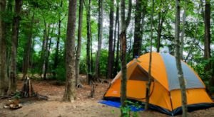 These 6 Amazing Camping Spots Around Charlotte Are An Absolute Must See