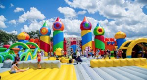 The World's Biggest Bounce Castle Is Coming To Idaho And It's As Incredible As It Sounds