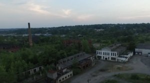 A Drone Flew High Above This Abandoned Factory In Ohio And Caught This Truly Eerie Footage