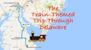 This Dreamy Train-Themed Trip Through Delaware Will Take You On The Journey Of A Lifetime
