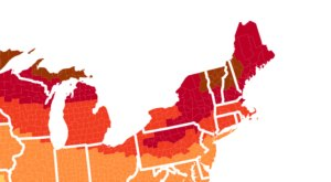The Map That Shows You When And Where To View Fall Foliage In Maine