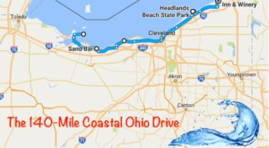 This 140-Mile Drive Is The Best Way To See Ohio's Stunning Coast
