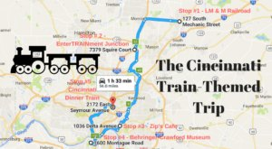 This Dreamy Train-Themed Trip Around Cincinnati Will Take You On The Journey Of A Lifetime