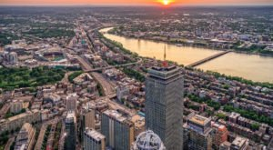 These 15 Aerial Views Of Boston Will Leave You Mesmerized