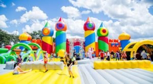 The World's Largest Bounce House Is Coming To Texas…And You'll Want To Visit