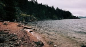 This Trail Leads You To One Of The Most Stunning Lakeside Beaches In Idaho